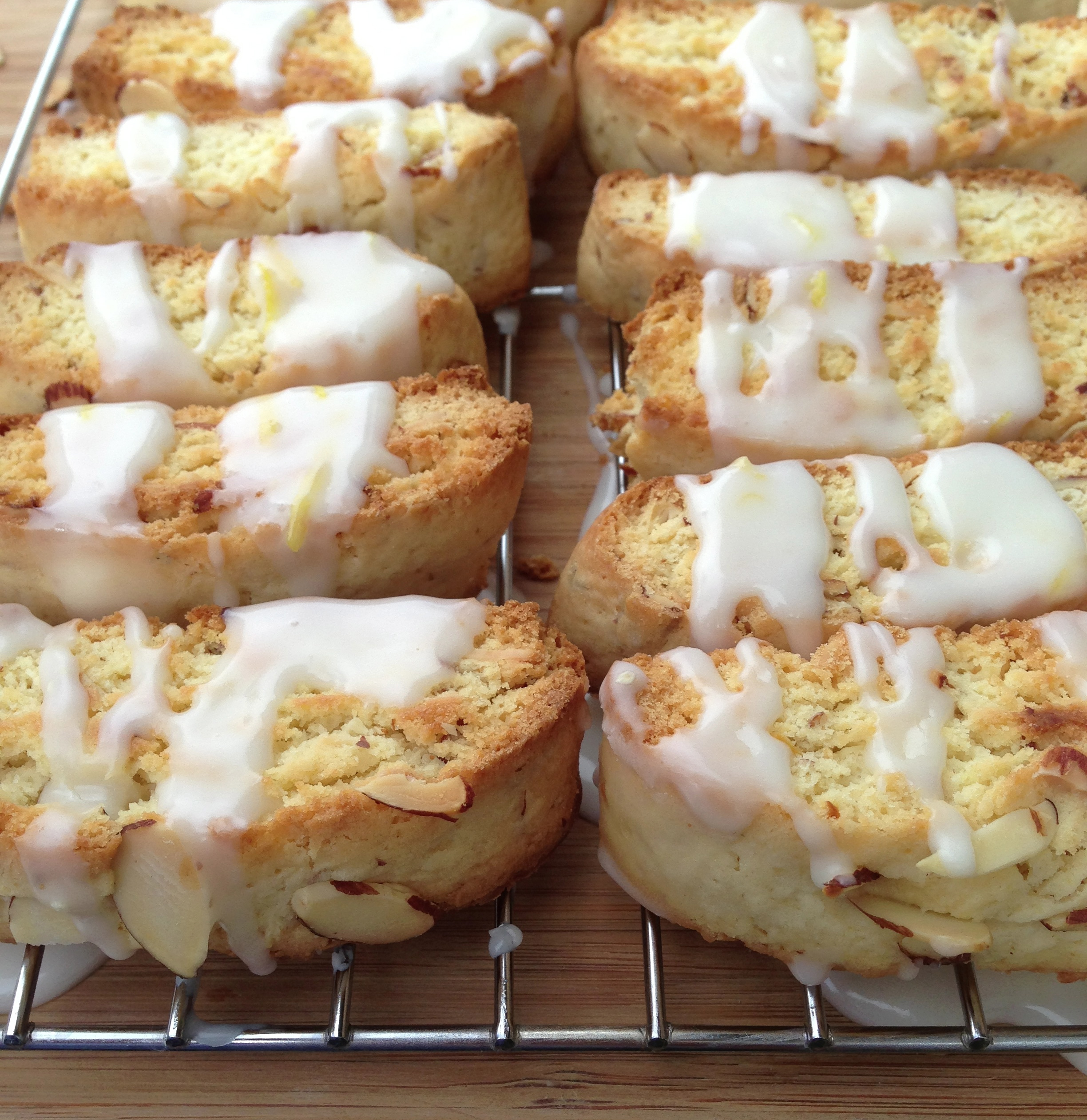 Lemon Almond Biscotti « Baking with Altitude