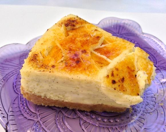Crème Brûlée Cheesecake « Baking with Altitude