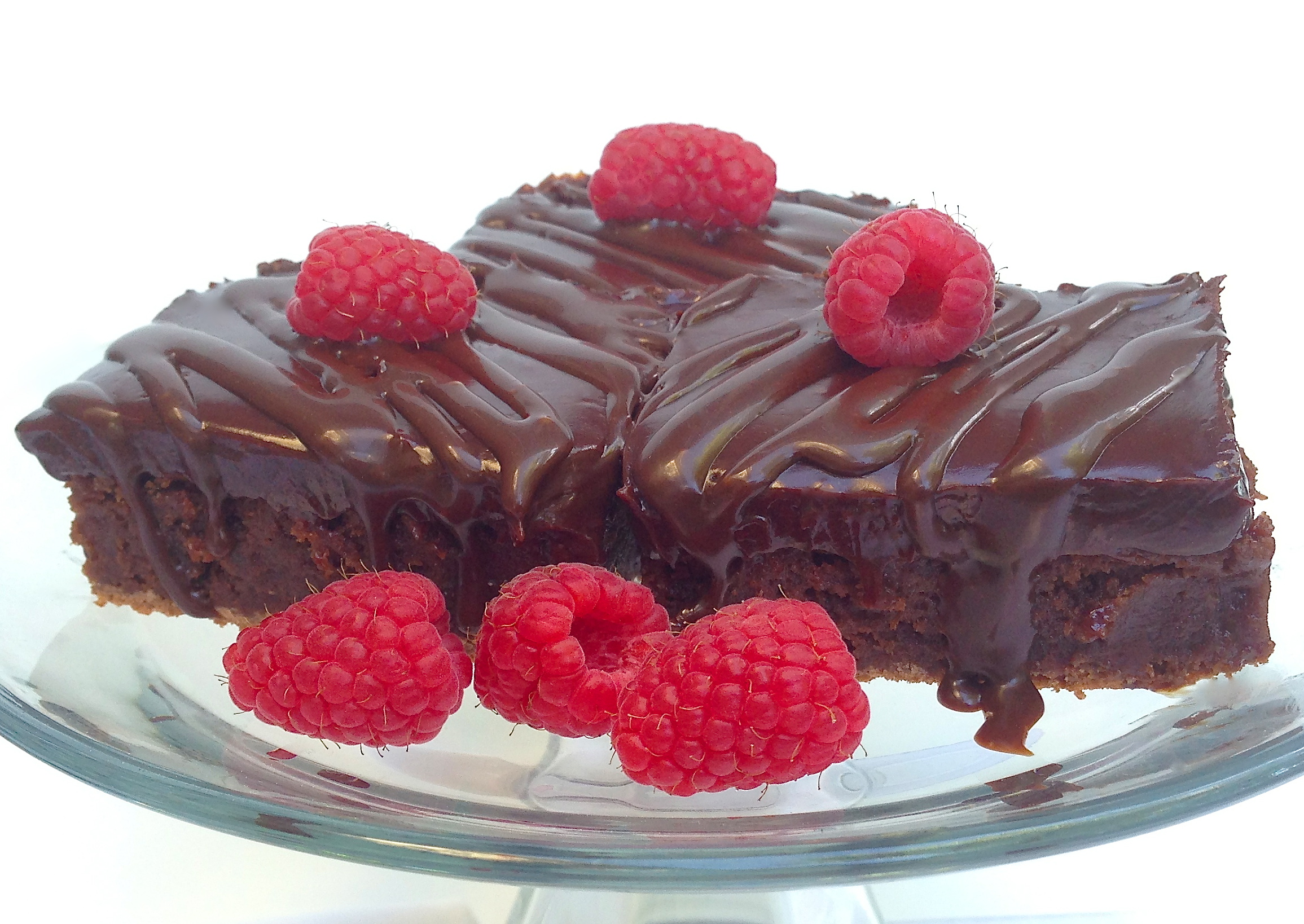 Raspberry Truffle Brownies « Baking with Altitude